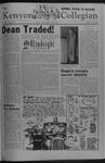 Kenyon Collegian - April 1, 1978