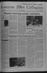 Kenyon Collegian - April 6, 1978