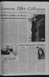 Kenyon Collegian - October 11, 1978