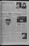 Kenyon Collegian - October 26, 1978