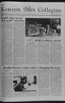 Kenyon Collegian - November 2, 1978