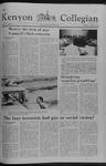 Kenyon Collegian - November 16, 1978