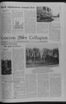 Kenyon Collegian - December 1, 1978