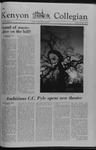 Kenyon Collegian - December 14, 1978
