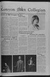 Kenyon Collegian - February 8, 1979