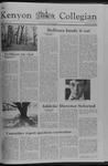 Kenyon Collegian - April 19, 1979