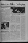 Kenyon Collegian - May 3, 1979