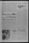 Kenyon Collegian - September 13, 1979