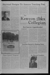 Kenyon Collegian - September 20, 1979