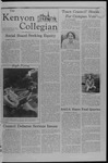 Kenyon Collegian - September 27, 1979