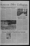 Kenyon Collegian - October 18, 1979