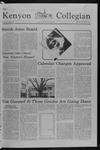 Kenyon Collegian - November 29, 1979