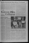 Kenyon Collegian - December 13, 1979