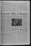 Kenyon Collegian - January 31, 1980