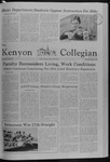 Kenyon Collegian - March 6, 1980