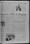 Kenyon Collegian - March 27, 1980