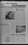 Kenyon Collegian - September 21, 1972