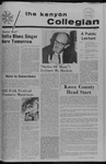 Kenyon Collegian - October 12, 1972