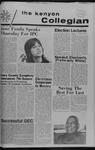 Kenyon Collegian - October 19, 1972