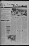 Kenyon Collegian - October 26, 1972