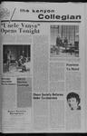 Kenyon Collegian - November 2, 1972