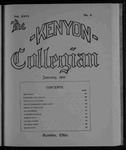 Kenyon Collegian - January 1900