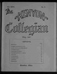 Kenyon Collegian - May 1900