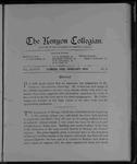 Kenyon Collegian - February 1903