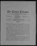 Kenyon Collegian - March 1903