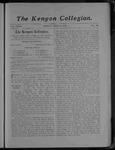 Kenyon Collegian - May 5, 1905