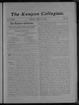 Kenyon Collegian - May 19, 1905