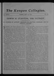 Kenyon Collegian - May 11, 1906