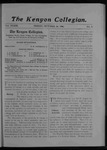 Kenyon Collegian - October 26, 1906