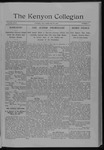 Kenyon Collegian - February 18, 1910