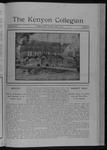 Kenyon Collegian - April 8, 1911