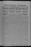 Kenyon Collegian - April 3, 1914