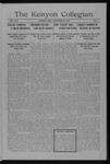 Kenyon Collegian - September 28, 1915