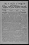 Kenyon Collegian - November 6, 1915