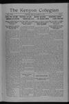 Kenyon Collegian - December 14, 1916