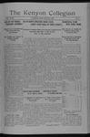 Kenyon Collegian - March 9, 1917