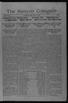 Kenyon Collegian - June 13, 1917