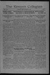 Kenyon Collegian - October 17, 1917