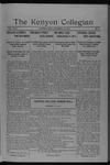 Kenyon Collegian - December 17, 1917