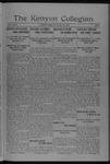 Kenyon Collegian - January 31, 1918