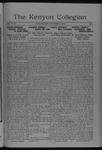 Kenyon Collegian - December 16, 1920