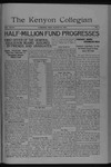 Kenyon Collegian - March 22, 1921
