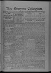 Kenyon Collegian - March 10, 1922