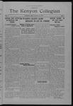 Kenyon Collegian - March 31, 1924