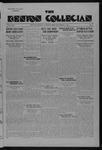 Kenyon Collegian - November 5, 1935