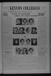 Kenyon Collegian - May 4, 1937